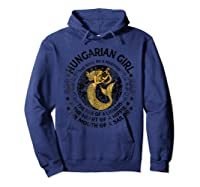 Hungarian Girl The Soul Of A Mermaid Great T Shirt Hoodie Navy