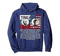 Trump Putin Treason T Shirt Impeach 45 Code 2381 Treason Hoodie Navy