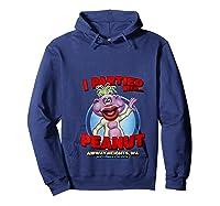 Peanut Airway Heights Wa T Shirt Hoodie Navy