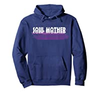 Soul Mother T Shirt Hoodie Navy