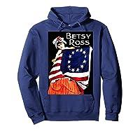 Usa Betsy Ross American Flag Shirt Art 13 Original Colonies T Shirt Hoodie Navy