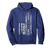 Competence 2020 American Flag Tshirt President Election Tee Hoodie Navy