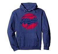 Atlanta Baseball Atl Pride Vintage Brave Retro Gift Shirts Hoodie Navy