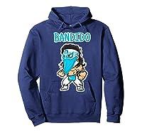 Feel Ink Bandido Bandit Lucha Libre Mexican Pro Wrestler Premium T Shirt Hoodie Navy