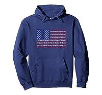 Impeach Trump 86 45 Impeacht Usa Flag Anti Resist Tshirt Hoodie Navy