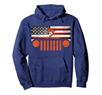 Oklahoma State Cow Nation Flag Apparel T Shirt Hoodie Navy