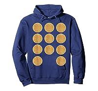 Eleven 11 Waffles T Shirt Tee Hoodie Navy