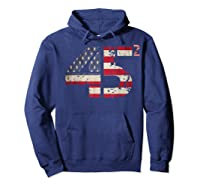Trump 45 Squared 2020 Second Presidential Term Gift Shirts Hoodie Navy