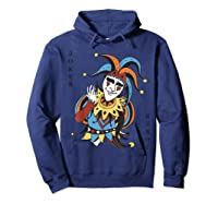 Joker Playing Card Halloween Costume Wild Card Shirts Hoodie Navy