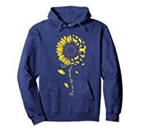 You Are My Sunshine Sunflower Goat For Woman Shirts Hoodie Navy