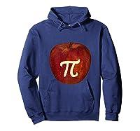 Funny Math Geek Apple Pie Pi Day Tank Top Shirts Hoodie Navy
