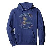 Woodstock - Technicolor Birdie T-shirt Hoodie Navy