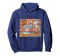 Bathing Burro Shirts Hoodie Navy