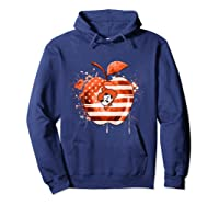Oklahoma State Cow Nation Flag T Shirt Hoodie Navy