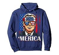 Joe Biden 2020 Merica 4th Of July Independence Day Usa T Shirt Hoodie Navy