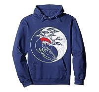 Spirit Soul Yin Yang Bonsai Tree Meditation Shirts Hoodie Navy