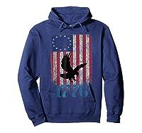 Betsy Ross Shirt 4th Of July American Flag Tshirt 1776 Eagle Hoodie Navy
