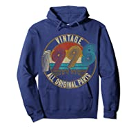 Vintage 21st Birthday Gift Shirt For Classic 1998 T-shirt Hoodie Navy