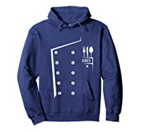 Chef Cooking Funny Culinary Chefs Gifts T Shirt Hoodie Navy