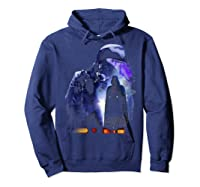 S Darth Vader Shadow Silhouette Shirts Hoodie Navy