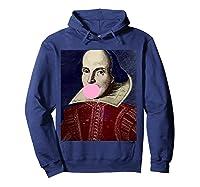 William Shakespeare Bubble Gum T Shirt Hoodie Navy