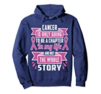 Breast Cancer Awareness Month Pink Ribbon Warrior T T Shirt Hoodie Navy