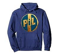 Pil Blue Gold Logo Shirts Hoodie Navy