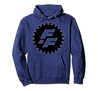 Fast Furious Gear Circle Logo Pullover Shirts Hoodie Navy