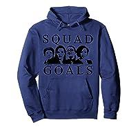 Squad Goals Aoc Rashida Tlaib Ilhan Omar Ayanna Pressley Shirts Hoodie Navy