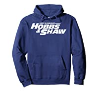Fast Furious Hobbs Shaw All Movie Logo Pullover Shirts Hoodie Navy