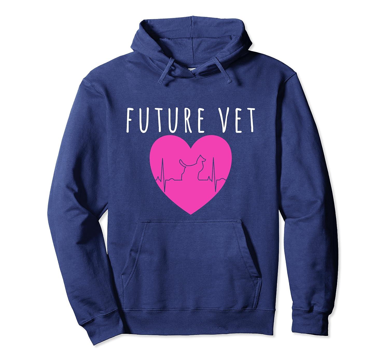 Future Vet Hoodie Funny Veterinarian Student Grad Gift