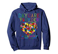 Daycare Provider Tshirt Appreciation Gift Childcare Tea  Hoodie Navy
