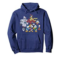 Duck Tales Tank Group Graphic Shirts Hoodie Navy