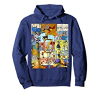 Wizard Of Oz Montage Shirts Hoodie Navy