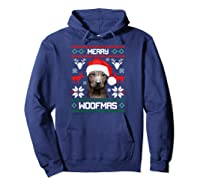 Thai Ridgeback Gift For Merry Christmas Woofmas Clothes Shirts Hoodie Navy
