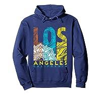 Los Angeles Shirt California City Los Angeles T Shirt Hoodie Navy