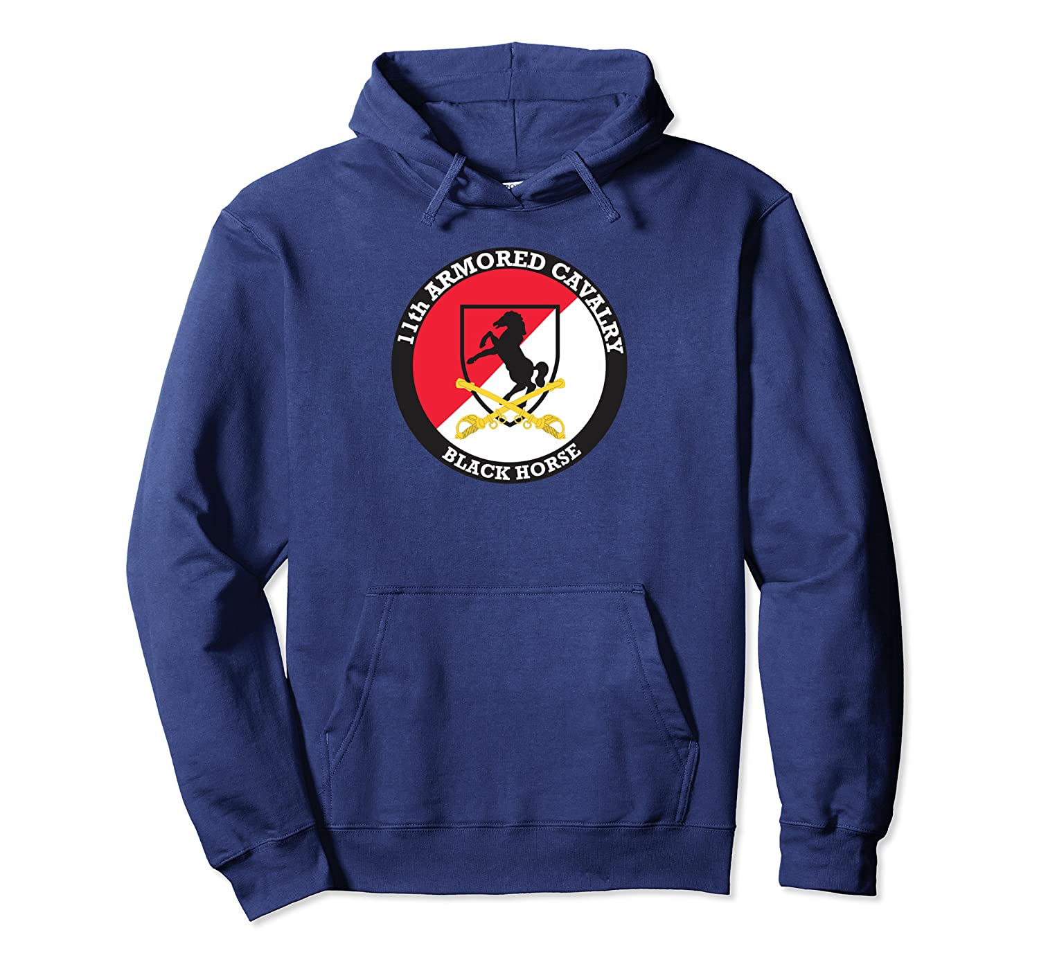 11th Armored Cavalry Regiment Pullover Hoodie