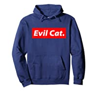 Evil Cat Streetwear For And Evil Cat Shirts Hoodie Navy