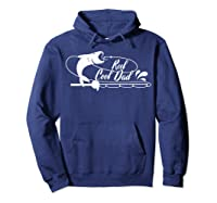 Reel Cool Dad Fishing Daddy Father's Day Gift Shirts Hoodie Navy