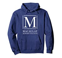 Macaulay Honors College Mountain Lions Ppmhc02 Shirts Hoodie Navy