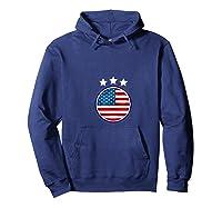 Usa Flag United States 2019 Soccer Us Futbol Shirts Hoodie Navy