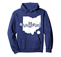 Red For Ed T-shirt Ohio Tea Public Education Hoodie Navy
