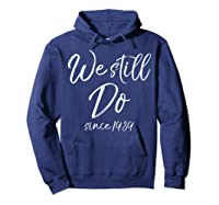 We Still Do Since 1989 29th Anniversary Gift Vows Shirts Hoodie Navy