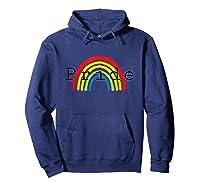 Gay Pride Rainbow 2019 T-shirt Lgbt Pride Month Hoodie Navy