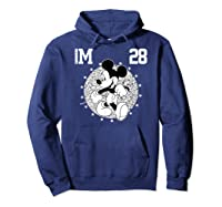 Disney Mickey Mouse Academy T Shirt Hoodie Navy