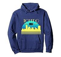 Ohio Toledo Hometown T Shirt Glass City Christmas Gift Ideas Hoodie Navy