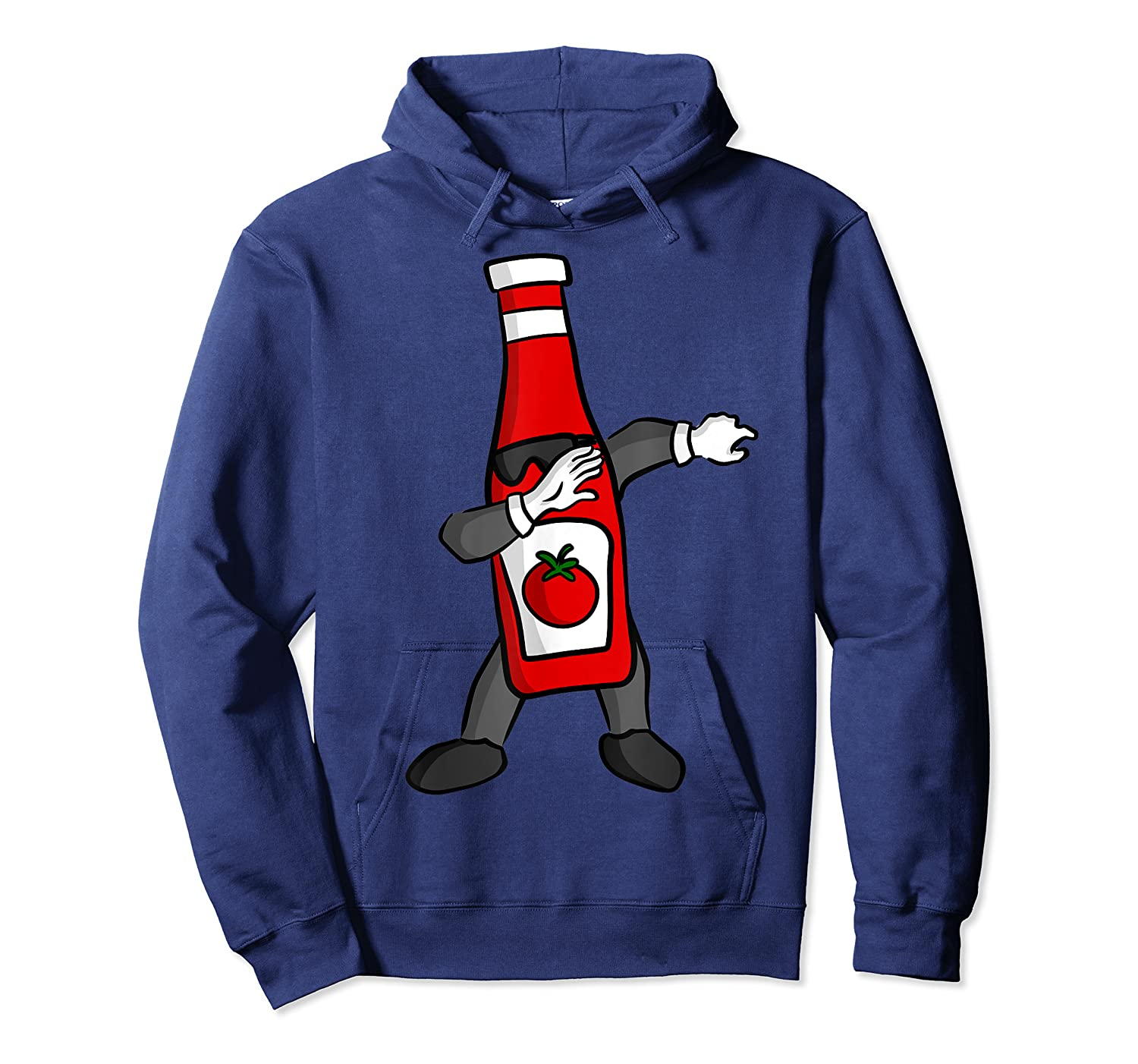 Ketchup Dab Pose T-shirt Unisex Pullover Hoodie