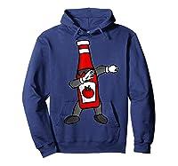 Ketchup Dab Pose T-shirt Hoodie Navy