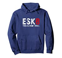 Hoverboard Electro E Skate E Board Esk8 Sk8 Gift Shirt Hoodie Navy