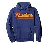 Retro Cincinnati T Shirt Cincinnati Oh Skyline Shirt Hoodie Navy
